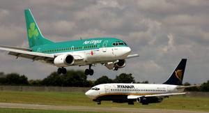 The key question for Aer Lingus is how will North American traffic recover – in Dublin Airport in June it was down 98pc compared to June 2019