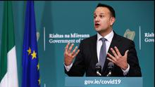 Assistance: Taoiseach Leo Varadkar announced measures to preserve jobs and incomes
