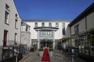 The Oriel House Hotel in Cork, where the botched robbery took place