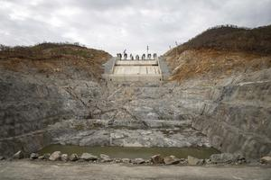 Resource: Construction of a hydroelectric dam near the Blue Nile in Ethiopia. Photo: Zacharias Abubeker/Bloomberg
