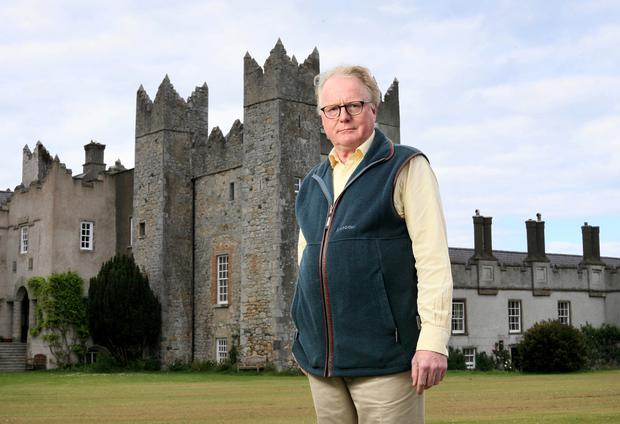 Julian Gaisford-St Lawrence believes Howth Castle is in safe hands following its sale Photo: Frank McGrath