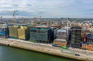 Yield: Treasury Dock on North Wall Quay, Dublin houses the National Treasury Management Agency