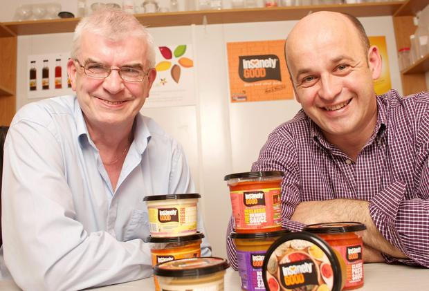 TASTY: Denis O'Driscoll and Tom Kearney of Spice O'Life, based in Dunmanway, Co Cork