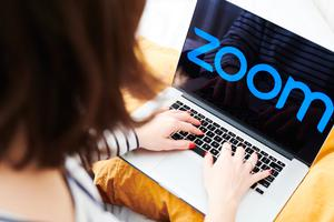 'I've even experimented with flouncing out of a Zoom - long story.' Stock photo: Bloomberg
