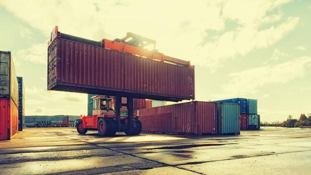 The CSO said Irish exports to Britain fell last year by 4pc to €13.5bn, while British imports here rose by 2pc to €18.75bn (stock photo)
