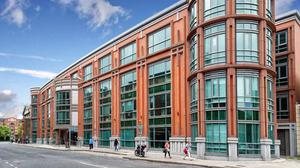 Prime: Bishop's Square is to be offered for sale for the third time since 2013. Current owner, Hines, acquired the building from King Street Capital for €92.5m in 2015