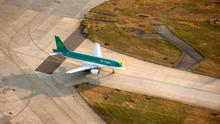 Going the distance: Aer Lingus has vowed to make air travel as safe as possible. Photo: Bloomberg
