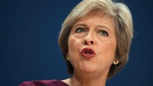 Theresa May announced that Britain will invoke article 50 in March 2017 Picture: Reuters