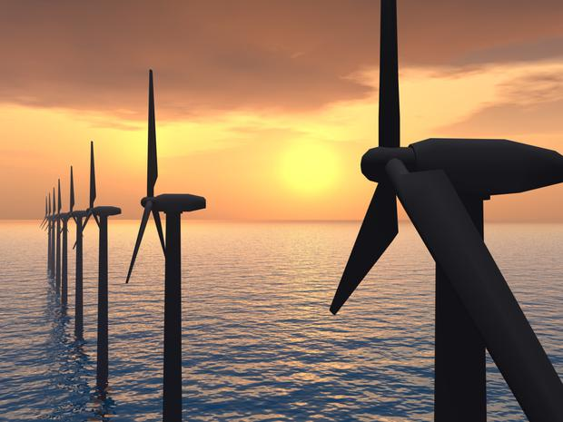 Offshore wind is expected to play a big part in the changing global energy scene