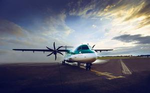 Stobart Air operates the Aer Lingus Regional service on a franchise basis.