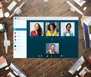 Staying connected: Zoom, Hangouts, Skype and Whereby have given office workers a vital link to others during the Covid-19 crisis