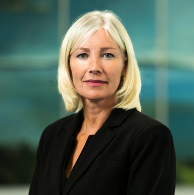 Future needs: Ulster Bank CEO Jane Howard has put the bank's search for a new HQ on hold