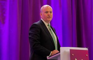 Approval: Colin Hunt, chief executive of AIB