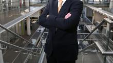 Chief executive Richard Moat, pictured at the company's Dublin headquarters, said Eircom has 'turned a corner'