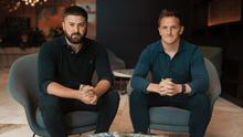Brands: Liam Harrington of Iconic Labs (L) and Greencastle Capital's Paul O'Donohoe plan to retain the Maximum Media brands of Joe.ie and Her.ie
