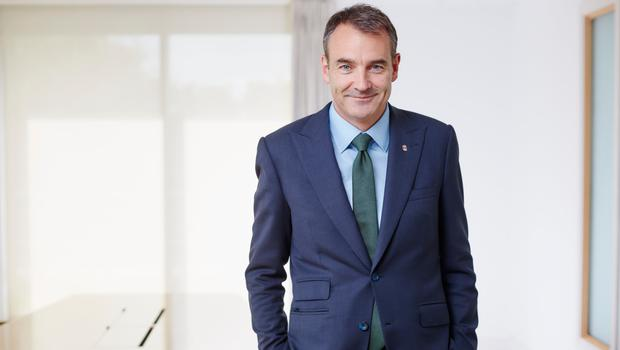 Mr Dudley will be replaced as BP CEO by Irishman Bernard Looney (pictured)