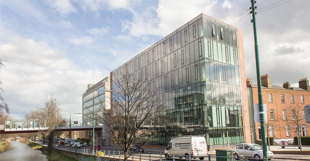 Block: The One Grand Parade offices in Dublin 6. Photo: OMS Architects