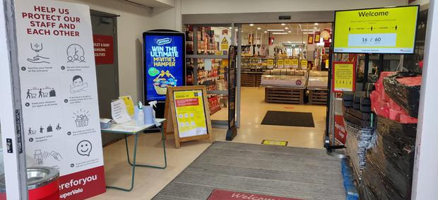 Trial: A SuperValu store in Co Meath is testing the new system