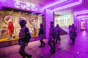 Slump: Gucci's stores in China suffered during lockdown