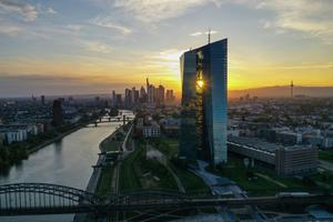 Frankfurt: The headquarters of the European Central Bank