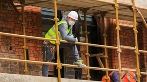 Slow down: The construction sector has dipped in August following a surge earlier in the year