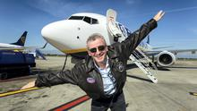 In 2014, Ryanair CEO Michael O'Leary landed at Dublin airport with the first of Ryanair's new Boeing 737-800 NG aircraft from Seattle. Ryanair celebrated its 30th birthday in 2015.
