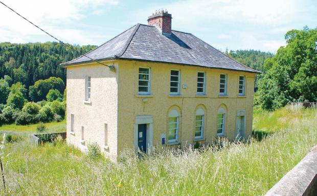 Former garda station at Inistioge, Co Kilkenny