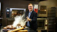 Flour power: CEO Kevin Toland has been trying to find a recipe for success at Aryzta. Photo: Mark Condren