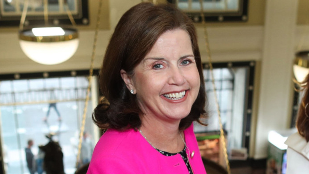Soon to depart: FBD boss Fiona Muldoon expects profits to double.