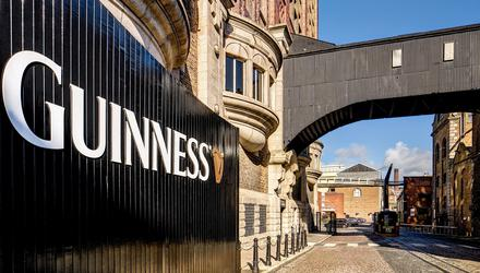 'We've been carried by the 'Book of Kells', the Guinness Storehouse (pictured), overpriced novelty pubs and a passionless, idealess youth movement.' (stock image)