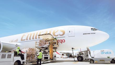 Emirates has reduced cargo flights from 14 a week to just four