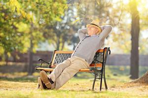 Peace of mind: Having your pension properly organised will allow for a relaxing retirement