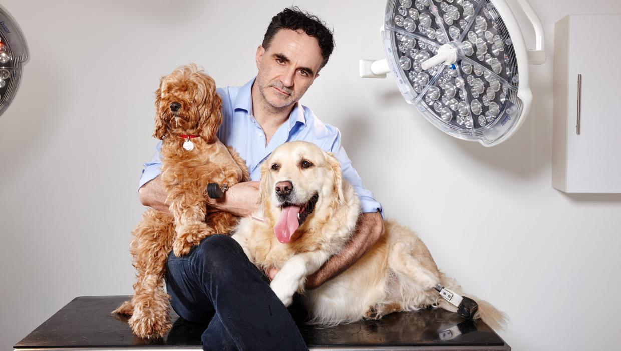 Supervet Noel Fitzpatrick says he's 'a very lucky man' after he fell down stairs and broke his neck