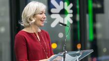 Helping hand: Ulster Bank chief executive Jane Howard