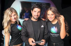 TV personality Craig Doyle at the launch of UPC's Horizon boxes
