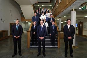 Challenges await: The new Government faces difficult and divisive decisions. PHOTO: JULIEN BEHAL