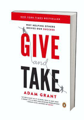Give and Take from Adam Grant.