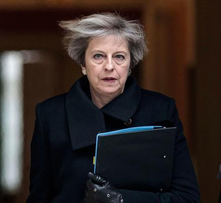 UK Prime Minister Theresa May will trigger Article 50 on Wednesday Picture: Reuters
