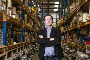 Mick Crean of Micksgarage at its warehouse in Park West, Dublin