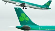 Shares in Aer Lingus soared 73pc in the last 12 months