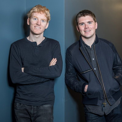 Patrick and John Collison of Stripe