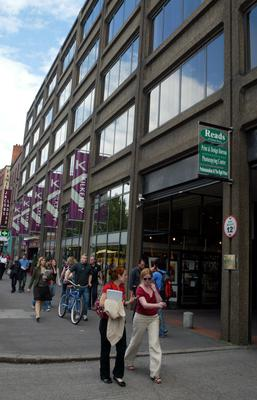Premises: The Setanta Centre on Dublin's Nassau Street, where print shop Reads has an outlet