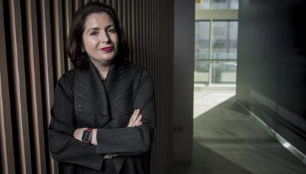 Both Francesca McDonagh at Bank of Ireland (pictured) and AIB's Colin Hunt have seen an increase loans to retail and property that are now classified as riskier as a result of lockdowns. Photo: Fergal Phillips