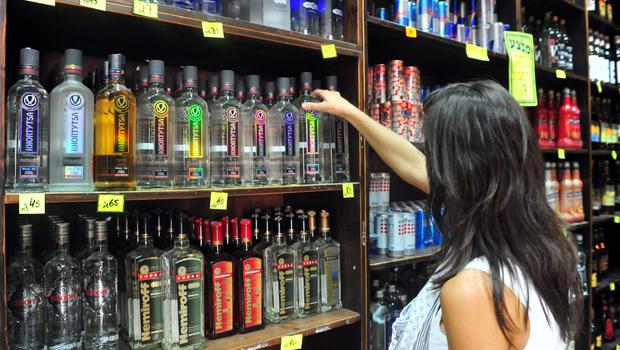 Shelved: Irish shoppers bought less alcohol in January