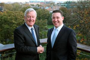 Stephen Vernon and Pat Gunne have made a good start in the market with Green Reit