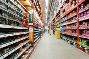 Some hardware stores around the country started to reopen last week on the basis of the new regulations. Stock Image