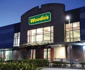 Woodie's was affected by Covid-19, with store closures for a number of weeks