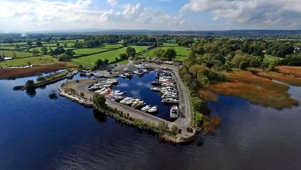 Cloondavaun Bay Marina is on 20 acres and is 12km from Portumna