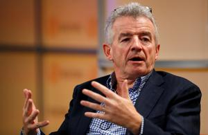 """Ryainair CEO Michael O'Leary is expecting """"seismic"""" changes in airlines post-Covid. Photo: Peter Nicholls"""