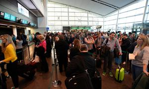 Busy: Dublin Airport saw record passenger numbers before the pandemic hit Photo: Caroline Quinn